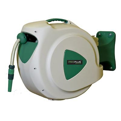 ProPlus Wall Mounted Automatic Retractable Pivotable Garden Hose Reel 20m