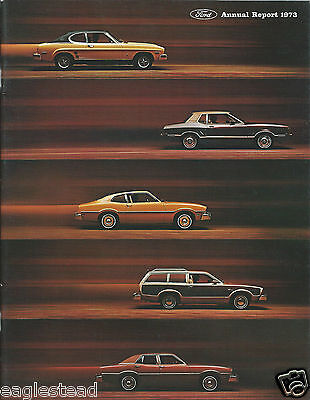 Annual Report - Ford Motor Company - 1973 - Financial (AB897)