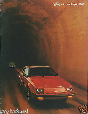 Annual Report - Ford Motor Company - 1980 - EXP cover (AB903)