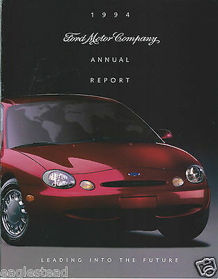 Annual Report - Ford Motor Company - 1994 - Taurus cover (AB915)
