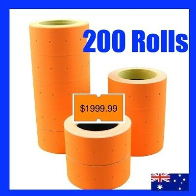 NEW PRICE GUN TAGS LABELS x 200 ROLLS FOR MX 5500