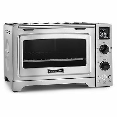 KitchenAid KCO273SS Stainless Steel 12-inch Digital Convection Countertop Oven w