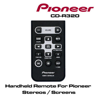 Pioneer CD-R320 Handheld Remote for DEH-4400BT Stereo