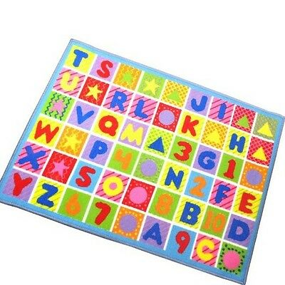 Alpha Numeric Design Play Mat Childrens Bedroom Playroom
