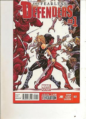 The Fearless Defenders #1 (2013) Marvel Comics