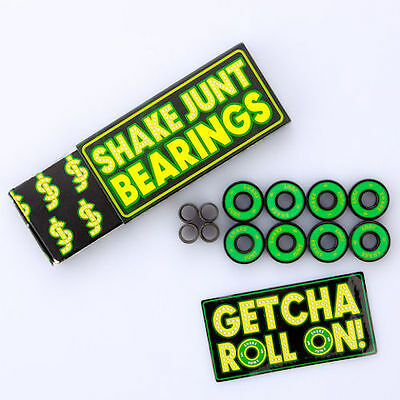 o-Shake Junt Abec 5 OGs Skateboard Bearings for Longboards Cruisers Scooters New