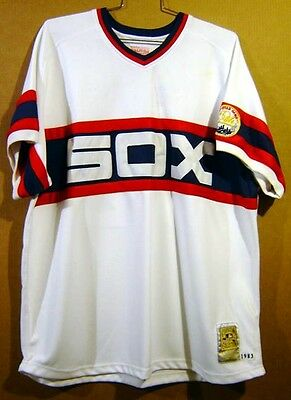Chicago White Sox Carlton Fisk Mitchell & Ness Authentic Mlb Jersey