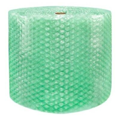 "1/2"" SH Recycled Large Bubble Wrap Cushioning Padding Roll 125' x 24"" Wide 125FT"