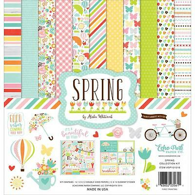 Echo Park ~ SPRING ~ Collection Kit ~ 12x12