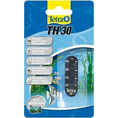 Tetra TH Digitalthermometer, Klebethermometer Thermometer Aquarium • EUR 2,79