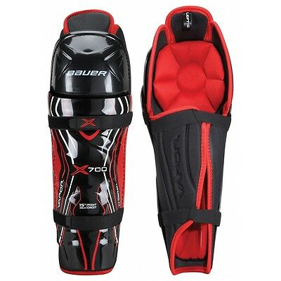 Bauer Vapor X700 Ice Hockey Shin Pads / Guards - Junior & Senior Sizes