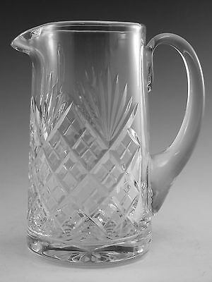 "Royal DOULTON Crystal - JUNO Cut - Tall Jug - 6"" (2nd)"
