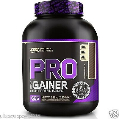 Optimum Nutrition Pro Complex Gainer 2.3Kg High Protein Serious Mass Muscle Gain