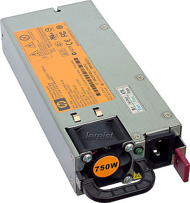 HP Power Supply Netzteil 750W HSTNS-PL18 PN 506822-201 SP 511778-001 DL380 G6 G7