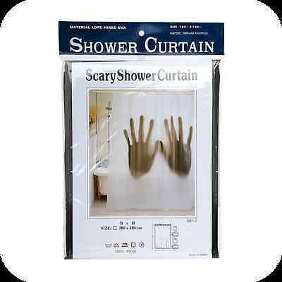 IGGI GH-9308A Scary 100% Waterproof And Non-Toxic Odour Shower Curtain - Hands