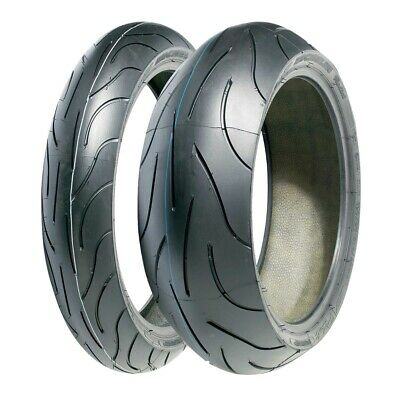 Motorcycle Tyres MICHELIN PILOT POWER 120/70/17 & 180/55/ZR17 *NEW* Pair Deal