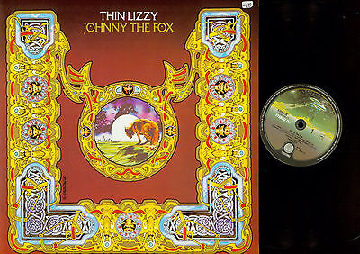 LP-- Thin Lizzy ‎– Johnny The Fox--6360138