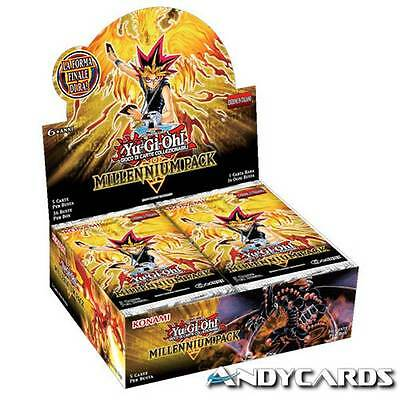 Box MILLENNIUM PACK ☻ 36 Buste MIL1 ☻ In ITALIANO ☻ Yugioh ANDYCARDS