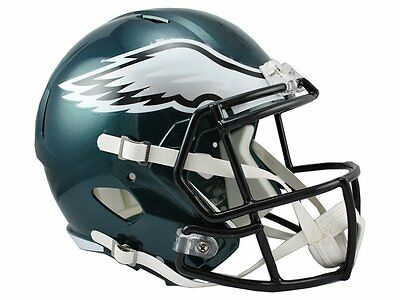 NFL Football Full Size Speed Helm Helmet PHILADELPHIA EAGLES Riddell neu OVP