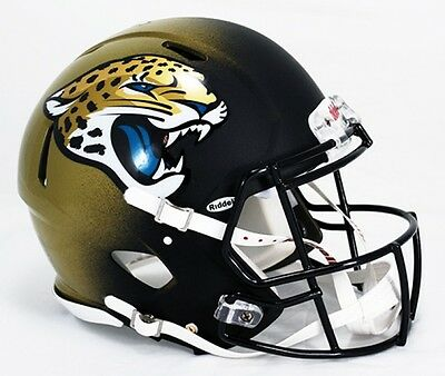 NFL Football Full Size Speed Helm/Helmet JACKSONVILLE JAGUARS Authentic ONFIELD