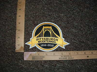 Pittsburgh Bicentennial 1816-2016 Patch Pittsburgh Penguins