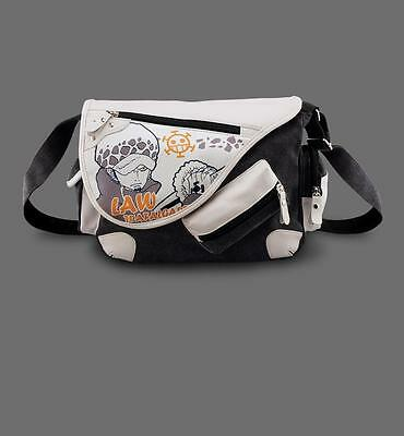 Neu ONE PIECE Trafalgar·Law Segel canvas Messenger Tasche Bag 35x30x16CM TOP !