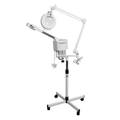 beauty item  salon 2 in 1  ozone herb  facial steamer  magnifying lamp