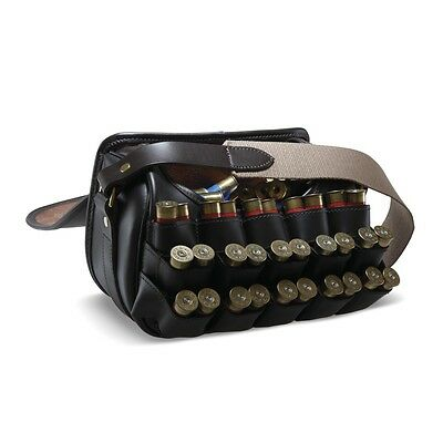 Byland Leather Shooting Hunting Cartridge Game Loaders Bag by Croots