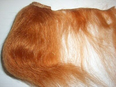 Mohairtresse, rot, ca. 1 m lang