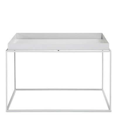 Tray Table Beistelltisch Weiß Coffee Square Hay Design