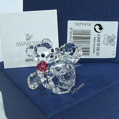 Swarovski A Rose For You Kris Bears Crystal Love Gift (MIB) - 1077419