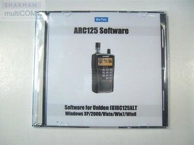 Arc125 Pc Software For Uniden Ubc125-Xlt Scanner Receiver
