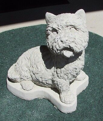 Concrete West Highland Terrier Statue Or Use As A Monument
