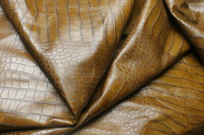 Leather Hide Cowhides Upholstery  Skins Crafts/  Brown 10