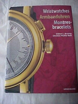 Book WRISTWATCHES ARMBANDUHREN MONTRES-BRACELETS by Brunner GERMAN/ENGLISH TEXT