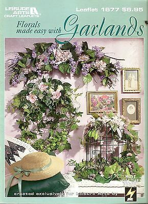 FLORALS MADE EASY WITH GARLANDS Craft Book - OOPS!
