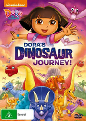 Dora The Explorer - Dora's Dinosaur Journey DVD R4 New! *