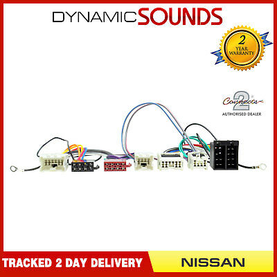 CT10NS03 Bluetooth Parrot SOT Lead T-Harness ISO Adaptor For NISSAN Murano <2008