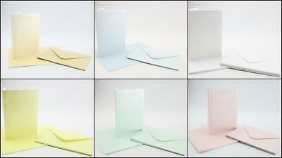 Craft UK Pearlescent Cards And Envelopes DIY Card Making Birthdays Invites