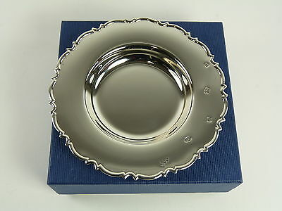 "Vintage Sterling Silver - Boxed Chippendale DISH - 5"" - Feature Hallmarks"