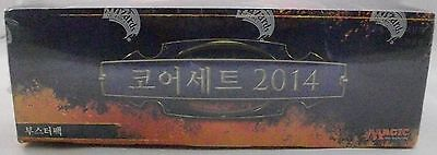 BOX 36 Buste MAGIC 2014 M14 KOREAN/COREANO Nuovo Sigillato Mtg Booster