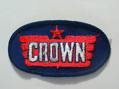 Crown Oil Company Patch (#4709) *