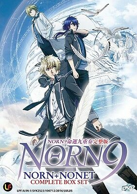 NORN9: NORN+NONET TV | Episodes 01-12 | English Subs | 1 DVD (M2389)-LU