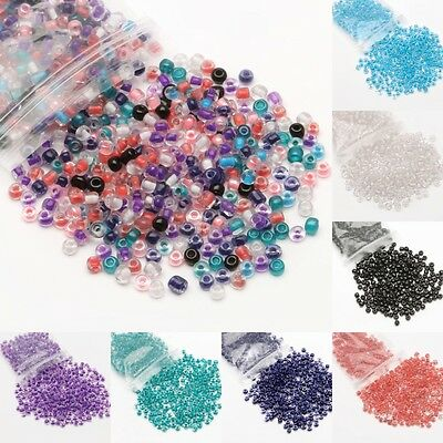 Wholesale 500/3000Pcs Czech Glass Seed Beads Loose Beads For Jewelry Making DIY