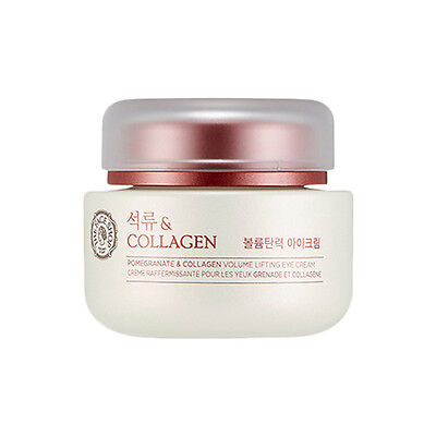 [THE FACE SHOP] Pomegranate & Collagen Volume Lifting Eye Cream - 50ml (New)