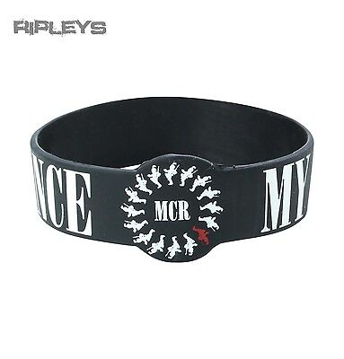 Official MY CHEMICAL ROMANCE Silicone Wristband BLACK PARADE Album