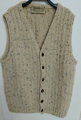 Cotton Belt Jilet Uomo Vintage 90 Cotton Belt Sweater Vintage Jilet Tg.l