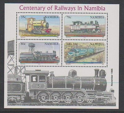Namibia - 1995 Centenary of Railways in Namibia sheet - MNH - SG MS661