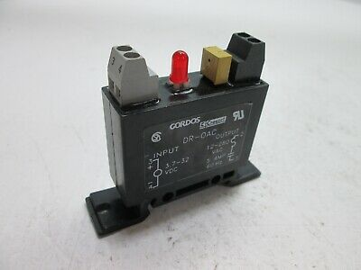 Gordos Crouzet DR-OAC Solid-State Relay, Input: 3.7-32VDC, Output: 12-280VAC 5A