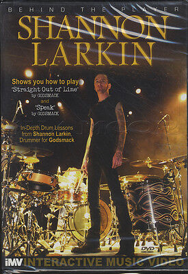 Shannon Larkin Behind the Player Godsmack Drum DVD Learn How To Play